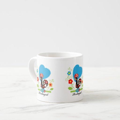 Portuguese Rooster Expresso Mug Espresso Mugs