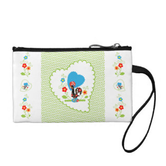 Portuguese Rooster Key Coin Klutch Coin Purse