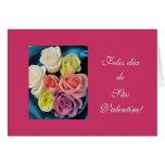 Portuguese: São Valentim Valentine silk & roses hz