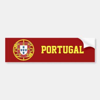 Portuguese shield bumper sticker