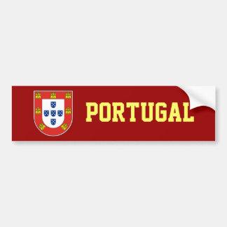 Portuguese shield car bumper sticker