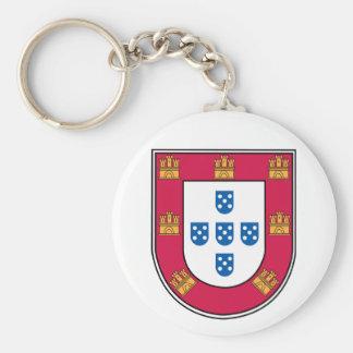 Portuguese Shield Key Ring