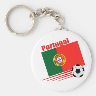 Portuguese Soccer Team Key Ring