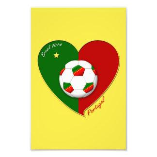 "Portuguese SOCCER Team. Soccer of ""PORTUGAL"" 2014 Photo Art"