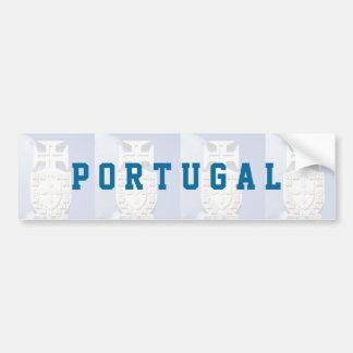 Portuguese symbology bumper sticker