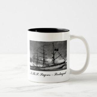 Portuguese tall ship mug
