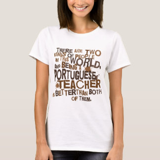 Portuguese Teacher Gift T-Shirt