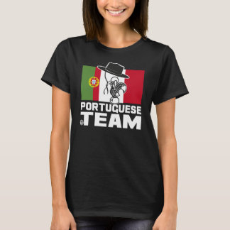 PORTUGUESE TEAM 2 BLACK Woman T-Shirt