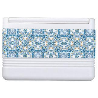 Portuguese Tile Pattern Igloo Cool Box