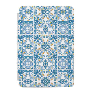 Portuguese Tile Pattern iPad Mini Cover
