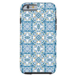 Portuguese Tile Pattern Tough iPhone 6 Case
