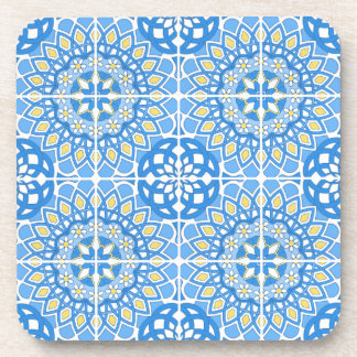 Portuguese tile patterns coaster