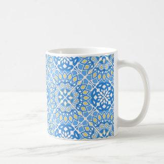 Portuguese tile patterns coffee mug
