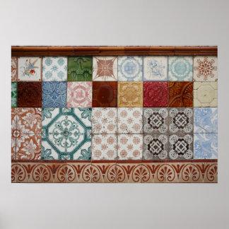 Portuguese tiles posters