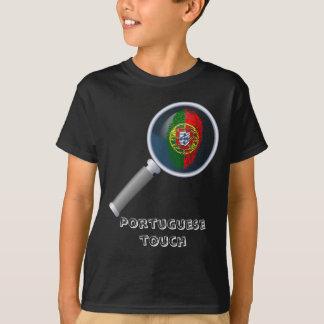 Portuguese touch fingerprint flag T-Shirt