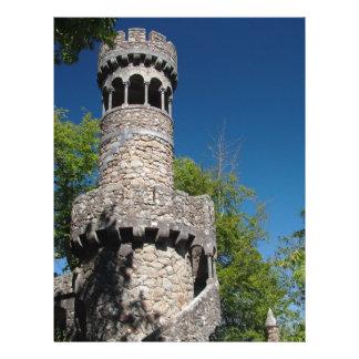 Portuguese tower 21.5 cm x 28 cm flyer