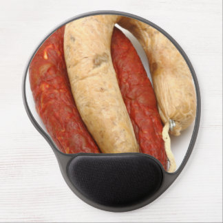 Portuguese typical sausages gel mouse pad