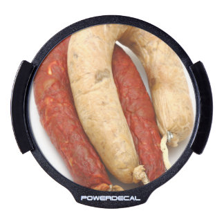 Portuguese typical sausages LED car decal
