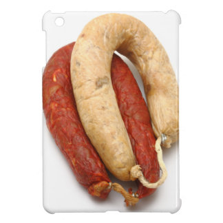 Portuguese typical sausages iPad mini cases