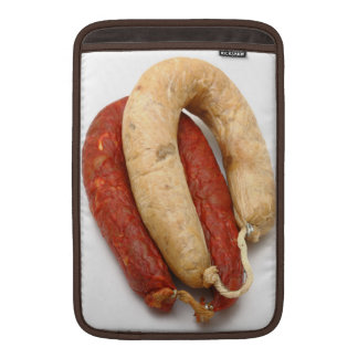 Portuguese typical sausages MacBook air sleeves