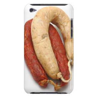 Portuguese typical sausages iPod Case-Mate cases