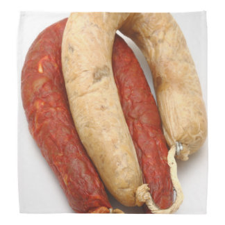Portuguese typical sausages kerchief