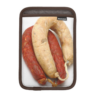Portuguese typical sausages sleeve for iPad mini