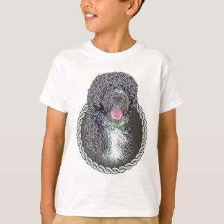Portuguese water dog 001 T-Shirt