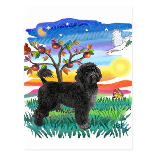 Portuguese Water Dog (#2) Postcard