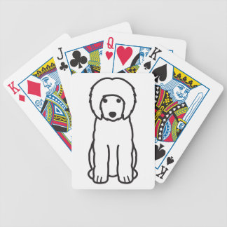 Portuguese Water Dog Cartoon Bicycle Card Deck