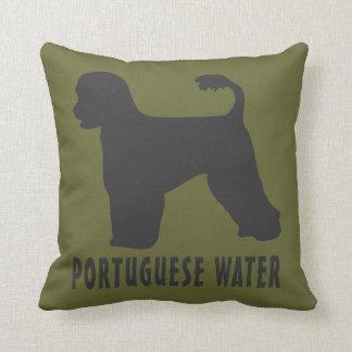 Portuguese Water Dog Cushion