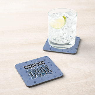 Portuguese Water Dog DUDE Beverage Coaster