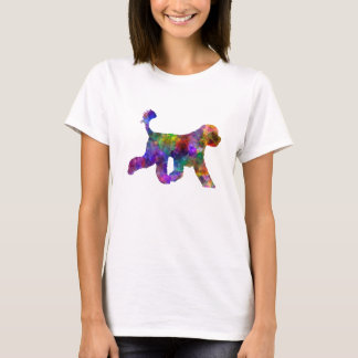 Portuguese Water Dog in watercolor T-Shirt