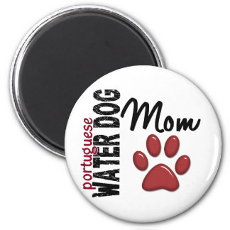 Portuguese Water Dog Mom 2 Magnet