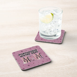 Portuguese Water Dog MOM Coasters