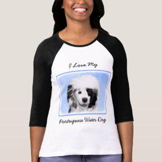 Portuguese Water Dog Painting - Original Dog Art T-Shirt