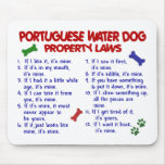 PORTUGUESE WATER DOG Property Laws 2 Mousepads