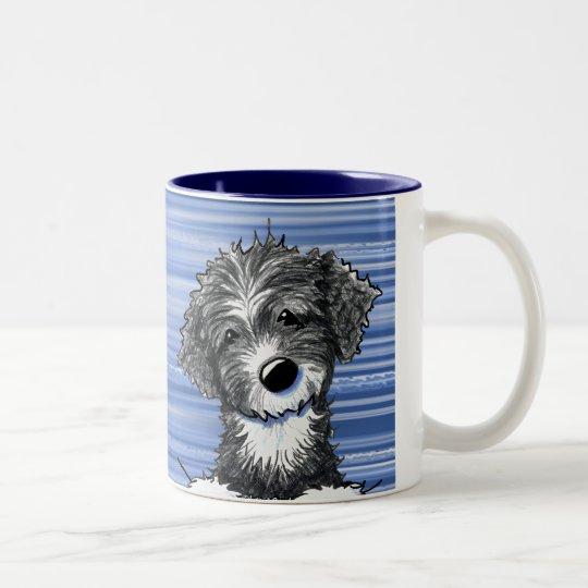 Portuguese Water Dog Two-Tone Coffee Mug
