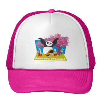 Po's Awesome Friends Cap