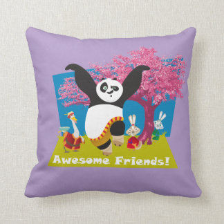 Po's Awesome Friends Cushion