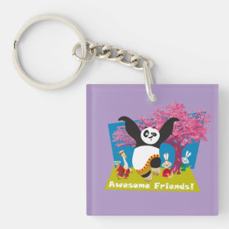 Po's Awesome Friends Key Ring