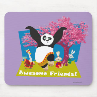 Po's Awesome Friends Mouse Mat