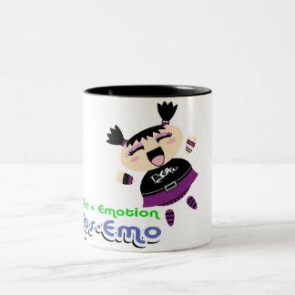 Pos-Emo Two-Tone Mug