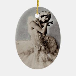 Posed en Pointe Christmas Ornament