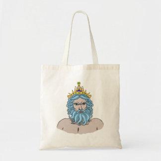 Poseidon Tote Canvas Bags