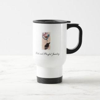 Posh and Playful travel mug