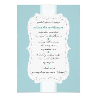 Posh Bridal Shower Invitation {Teal}