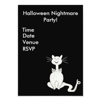 Posh Cat Invitation