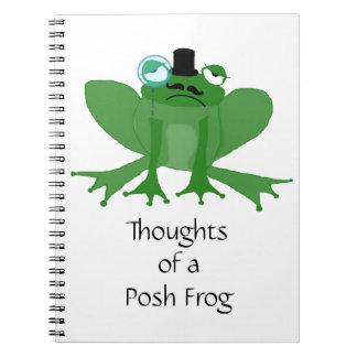 posh frog notebooks