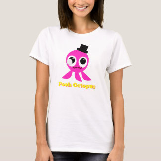 Posh Octopus Girls T-Shirt